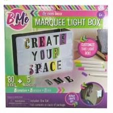 B Me Marquee Light Box