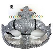 Half Mask- Silver