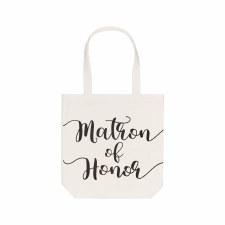 Collins Canvas Tote- Matron of Honor