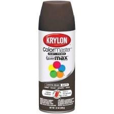 Krylon Indoor/Outdoor 12oz Spray Paint- Matte, Cocoa Bean