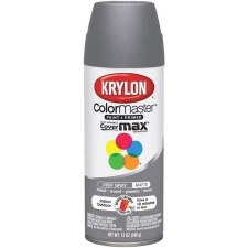 ColorMaster In/Out 12oz Matte Spray Paint- Deep Gray