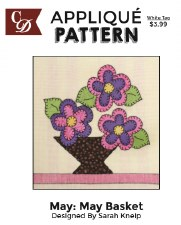 Applique Pattern- May Basket