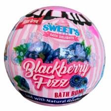 McSweets Bath Bomb - Blackberry Fizz
