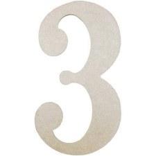 """MDF Number, 9.5""""- 3"""