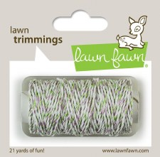 Lawn Fawn Trimmings Cord- Meadow Sparkle