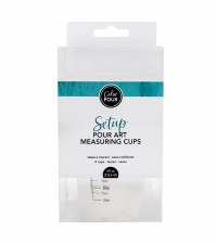 Color Pour Setup- Measuring Cups