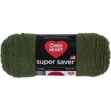 Red Heart Super Saver Yarn- Medium Thyme