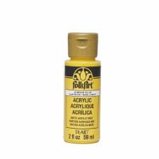 FolkArt 2 Oz. Acrylic Paint- Medium Yellow