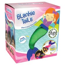 Blankie Tails- Green Mermaid, Toddler