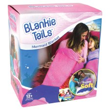 Blankie Tails- Pink Mermaid, Adult