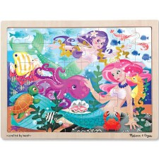 Melissa & Doug Jigsaw Puzzle- Mermaid Fantasea