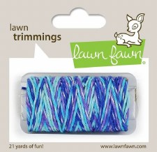 Lawn Fawn Trimmings Cord- Mermaid's Lagoon