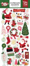 Merry & Bright Chipboard Accents