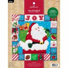 Bucilla Felt Advent Calendar Kit- Merry Moments