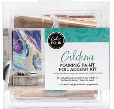 Color Pour Metallic Foils Gilding Kit