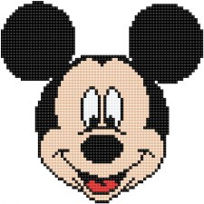 Diamond Facet Art Kit- Disney, Mickey Head