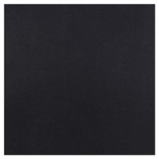 12x12 Black Cardstock- Midnight