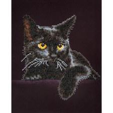 Diamond Facet Art Kit- Midnight Cat