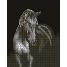 Diamond Facet Art Kit- Midnight Stallion