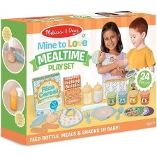 Melissa & Doug Mine to Love Play Set- Mealtime