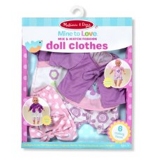 Melissa & Doug Mine to Love Play Set- Doll Clothes, Fashion