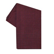 "Mini Check 20""x28"" Tea Towel- Red & Black"