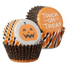 Halloween Baking- Mini Cupcake Liners: Trick or Treat, 100ct