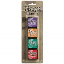 Tim Holtz Mini Distress Ink Pads, 4 pk- #15