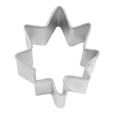Cookie Cutter- Maple Leaf, 1.75""
