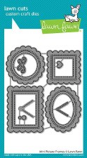 Lawn Fawn Craft Dies- Mini Picture Frames