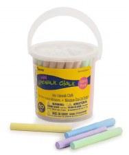 Mini Sidewalk Chalk Bucket, 60pc