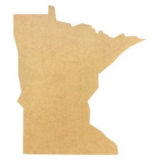 "Minnesota MDF Cut Out- 22"""