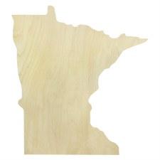 """Minnesota Wood Cut Out- 20.75"""""""