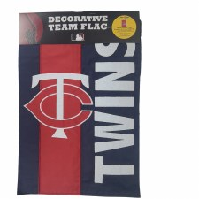 Minnesota Twins Embellished Garden Flag