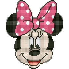 Diamond Facet Art Kit- Disney, Minnie Head