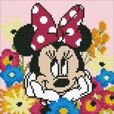 Diamond Facet Art Kit- Disney, Minnie Mouse