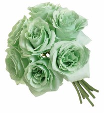 Ashley Rose Wedding Bouquet- Mint