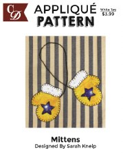 Applique Pattern- Mittens