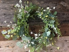 "Spring Wreath, 22""- Mixed Foliage"