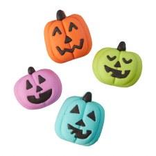 Halloween Baking- Royal Icing Decorations, Pumpkins
