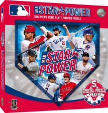 MLB Star Power - 500 Piece Puzzle