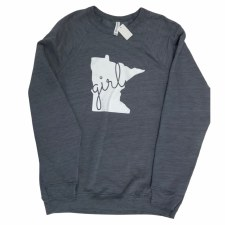 Minnesota Girl Crewneck- Medium