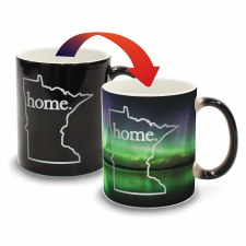 Minnesota Color Changing Mug- Home Northern Lights