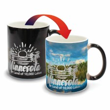 Minnesota Color Changing Mug- Lake & Canoe