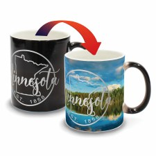 Minnesota Color Changing Mug- Lake Est. 1858