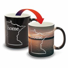 Minnesota Color Changing Mug- Sunset Canoe Home
