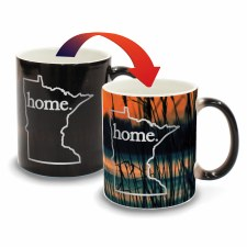Minnesota Color Changing Mug- Sunset + Cattails