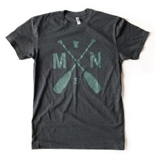 Sota Clothing T-Shirt- MN Paddle, Small