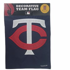 Minnesota Twins Logo Garden Flag