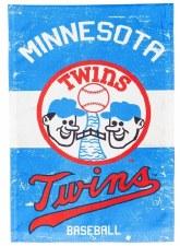 Minnesota Garden Flag- Twins Vintage Logo
